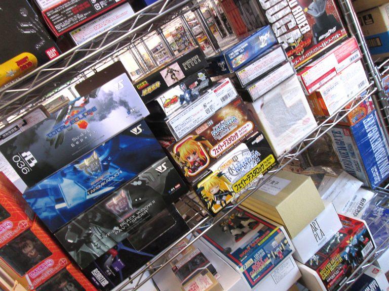 B-CLUBやコトブキヤのガレージキットを千葉県市原市よりお売り頂きました!