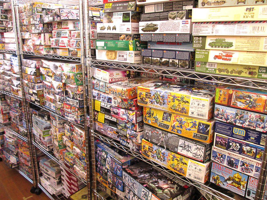 ジャンクプラモデルを含むキットを兵庫県より、多数お売り頂きました!