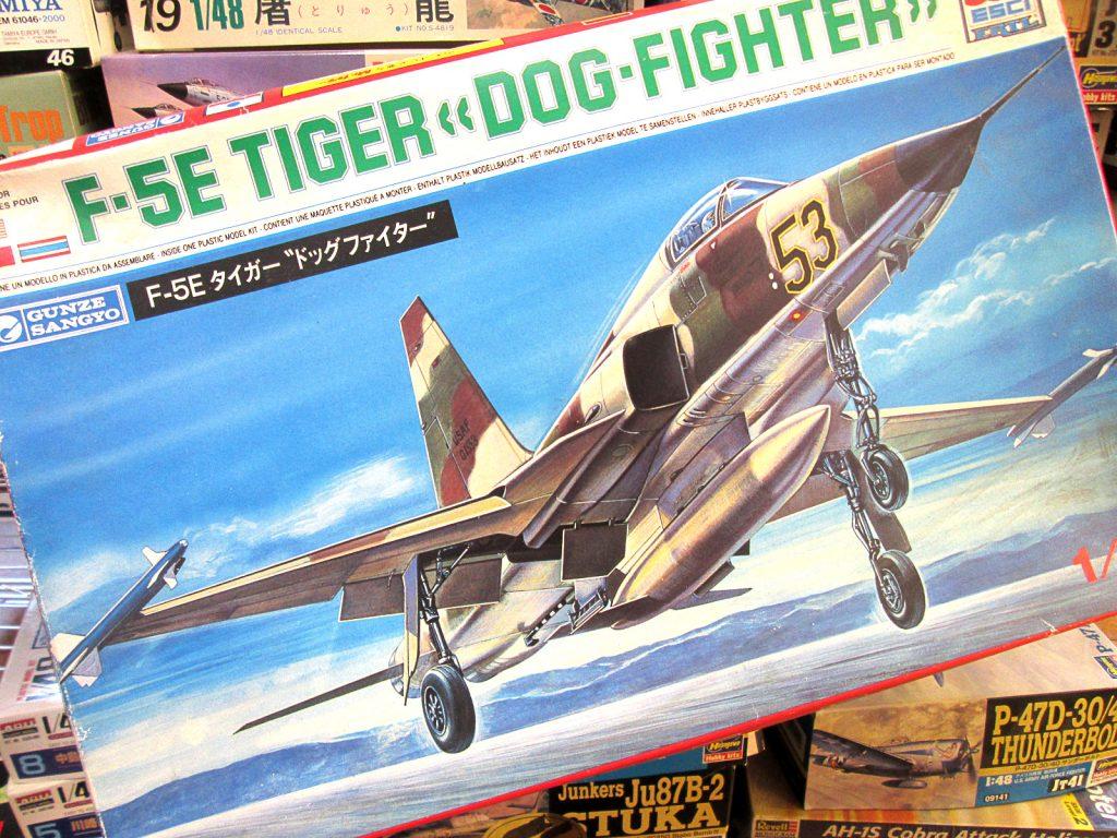 グンゼ エッシー 1/48 F-5E ドッグファイター