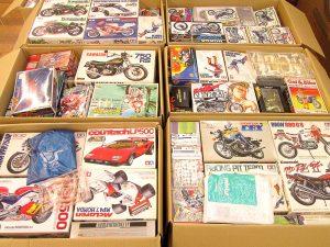 アオシマ俺のマシンシリーズなど300点以上のバイクプラモデルを大阪府摂津市より買取頂きました!