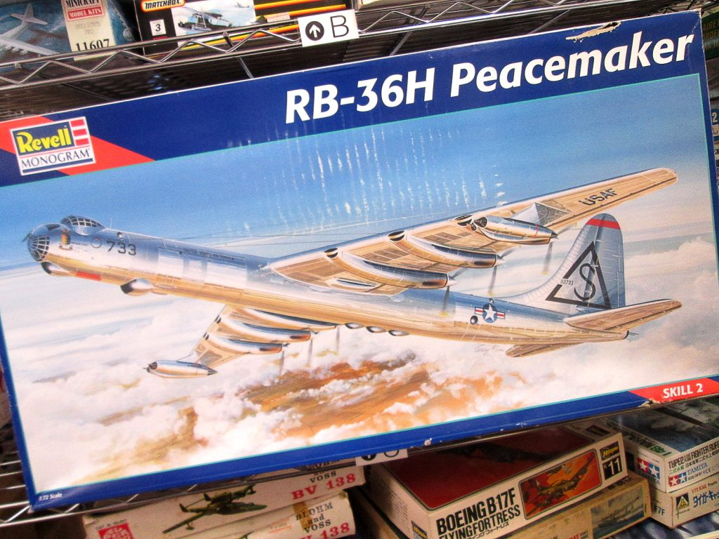 買取紹介:レベル 1/72 RB-36H ピースメーカー