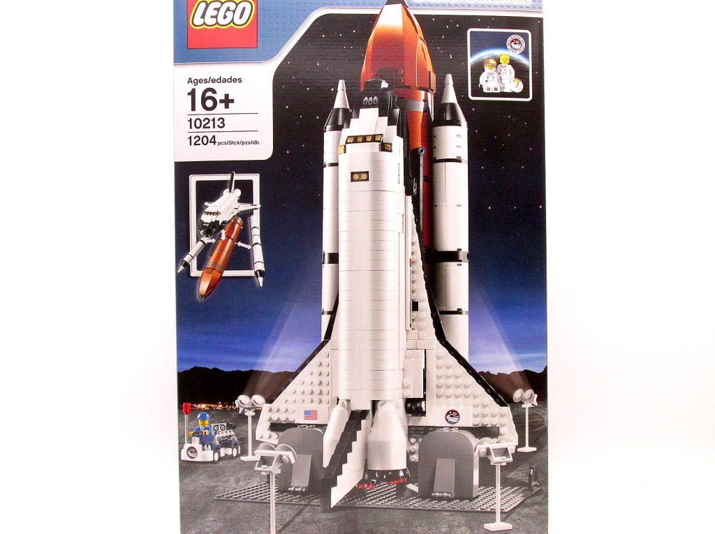買取紹介:LEGO/レゴ クリエイター 10213 スペースシャトルのパッケージ