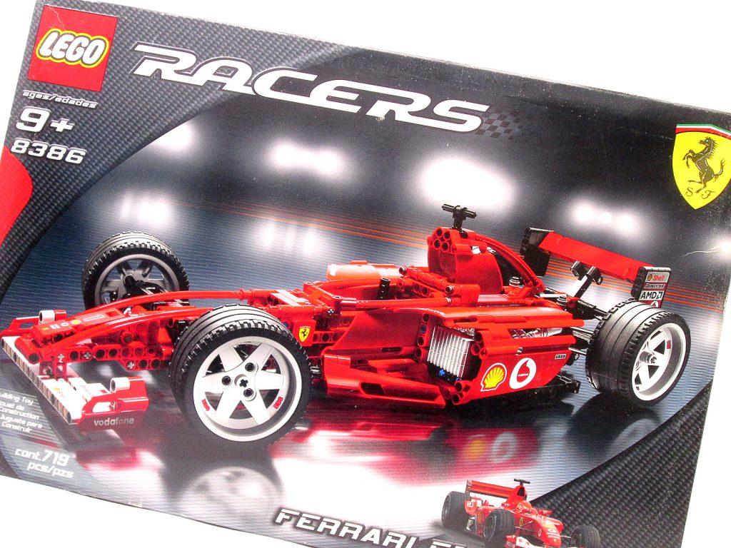 レゴレーサー 8386 フェラーリ F1レースカーを買取り頂きました!