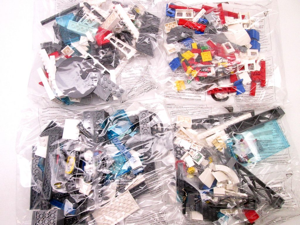 買取紹介:レゴ/LEGO シティ 7894 空港 ANAバージョンの内袋