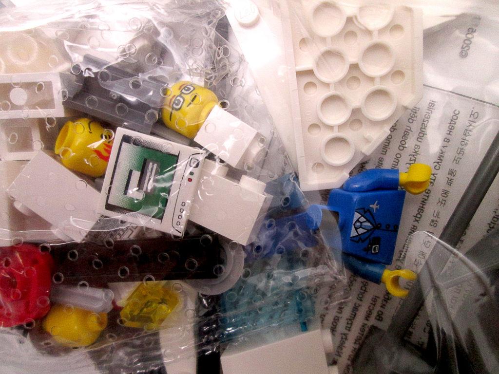 レゴ/LEGO シティ 7894 空港 ANAバージョン ミニフィグ