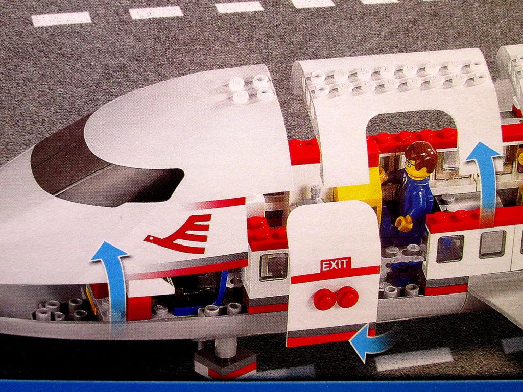 レゴ/LEGO シティ 7894 空港 ANAバージョン パッケージアップ