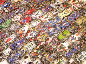 愛知県より、300点以上のワイルドミニ四駆やレーサーミニ四駆をお売り頂きました!