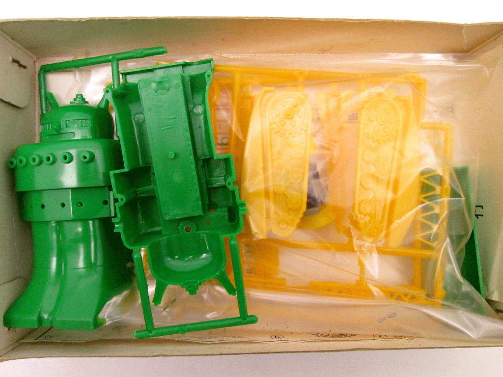 緑商会 スーパーボーイ チビコロ ロボットシリーズ 4 キット内容