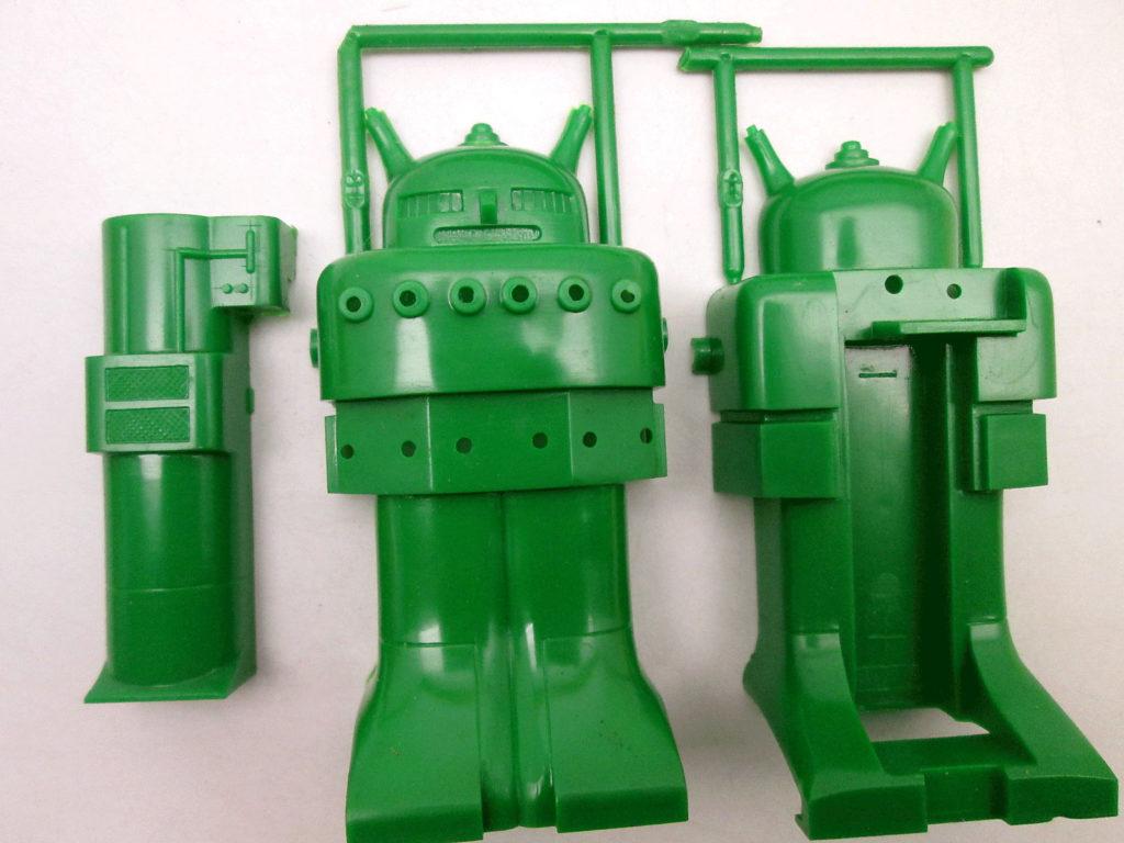 緑商会 スーパーボーイ チビコロ ロボットシリーズ 4 パーツ