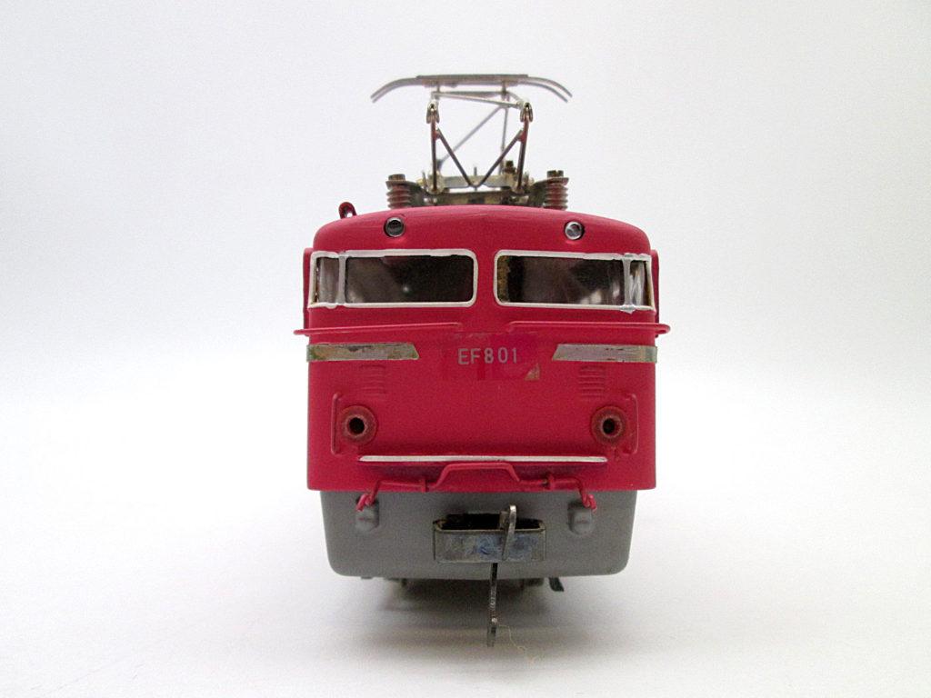 鉄道模型社 国鉄 EF80形電気機関車正面