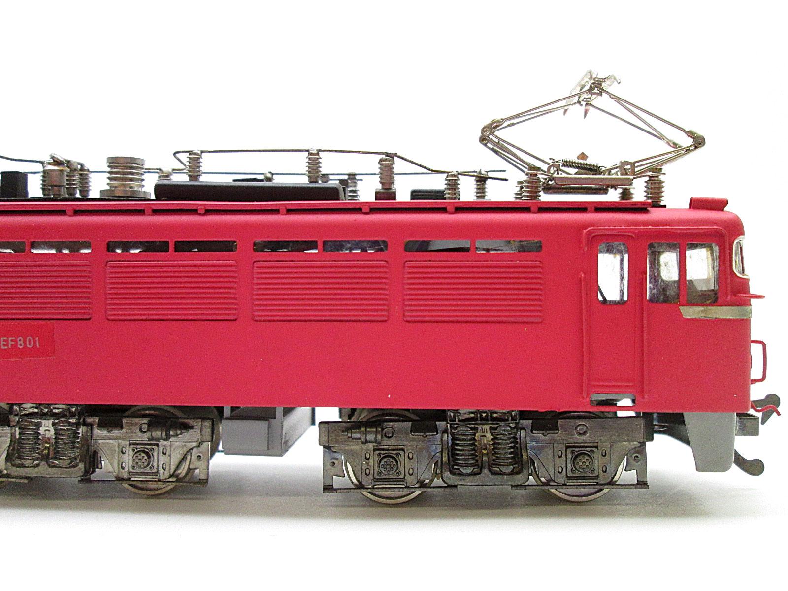 鉄道模型社 国鉄 EF80形電気機関車側面