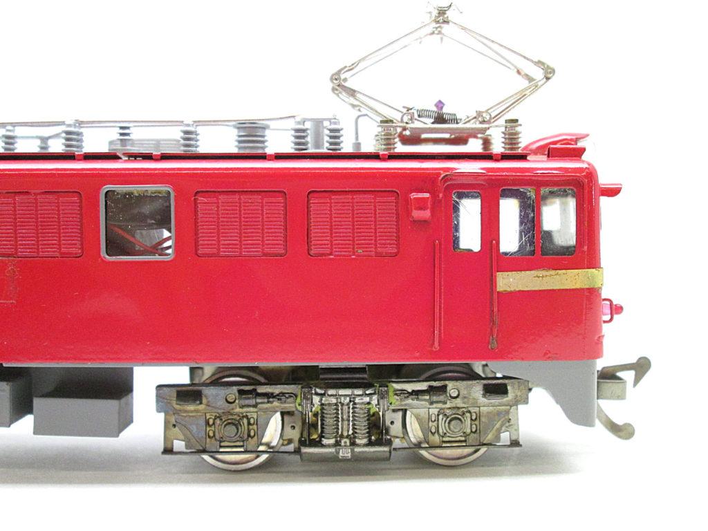鉄道模型社 国鉄 ED71形電気機関車側面