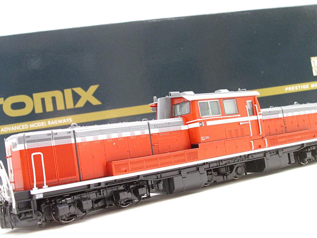 TOMIXの鉄道模型 HO 1/80 DD51 1000形ディーゼル機関車を買取させて頂きました!