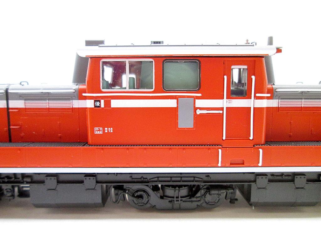 TOMIX DD51の運転席