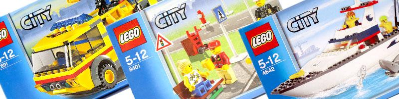 あらゆるレゴ シティシリーズを買取!