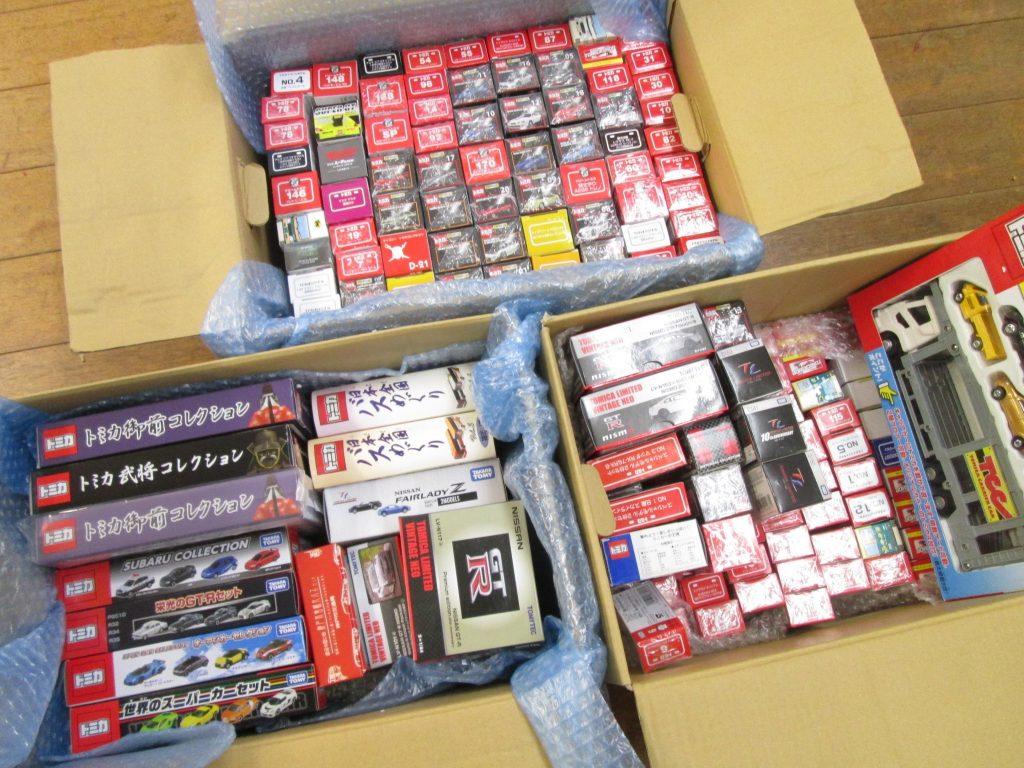 270台を超えるトミカやミニカーを広島県より買取り頂きました!(リスト有)