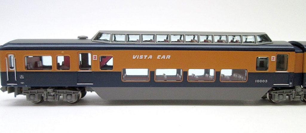 買取紹介:マイクロエース A1971 近鉄10000系ビスタカー 側面