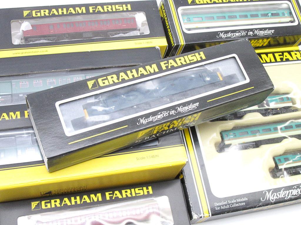 GRAHAM FARISH(グラハム・ファリッシュ) のNゲージや鉄道模型を買取頂きました!