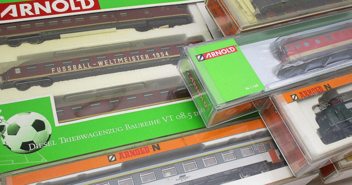 ARNOLD(アーノルト)の鉄道模型 VT08.5形ディーゼルカー等を買取頂きました!