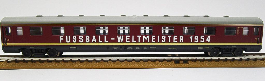 ARNOLD Nゲージ DB VT08.5形 ワールドカップ列車 1954の客車