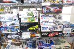モーリスミニクーパーやランボルギーニなどの自動車プラモ