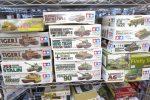 タミヤタイガーⅠやドラゴンファイヤフライなどの戦車