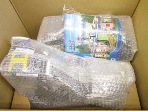 レゴシティ完成品の梱包
