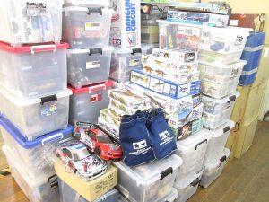 大阪府より、1500点を超えるプラモデル・模型やミニカーを買取頂きました!