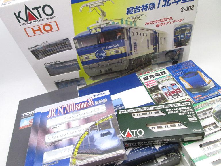 TOMIXやKATOなどのNゲージ・HOゲージを東京都府中市より買取頂きました!