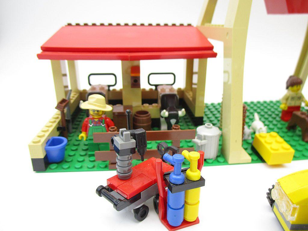 LEGO レゴ シティ 農場 7637 牛舎