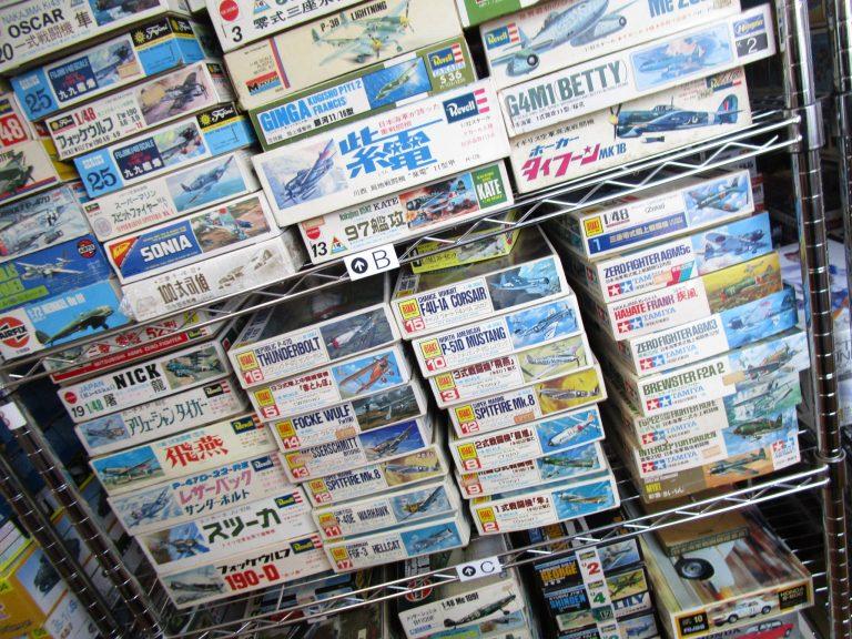 トミーやレベルなど当時の戦闘機・飛行機のプラモデルを東京都練馬区より多数お売り頂きました!
