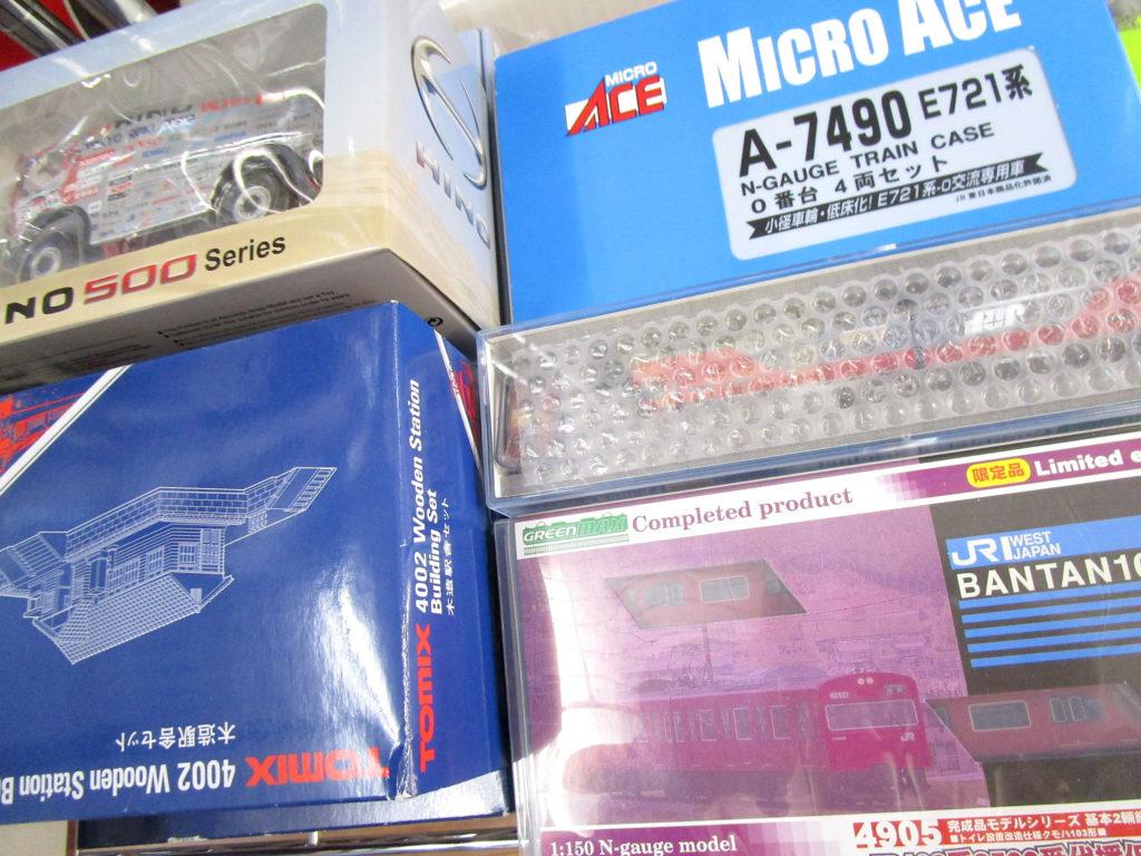 埼玉県より、マイクロエースやKATO、グリーンマックスの鉄道模型を買取頂きました!