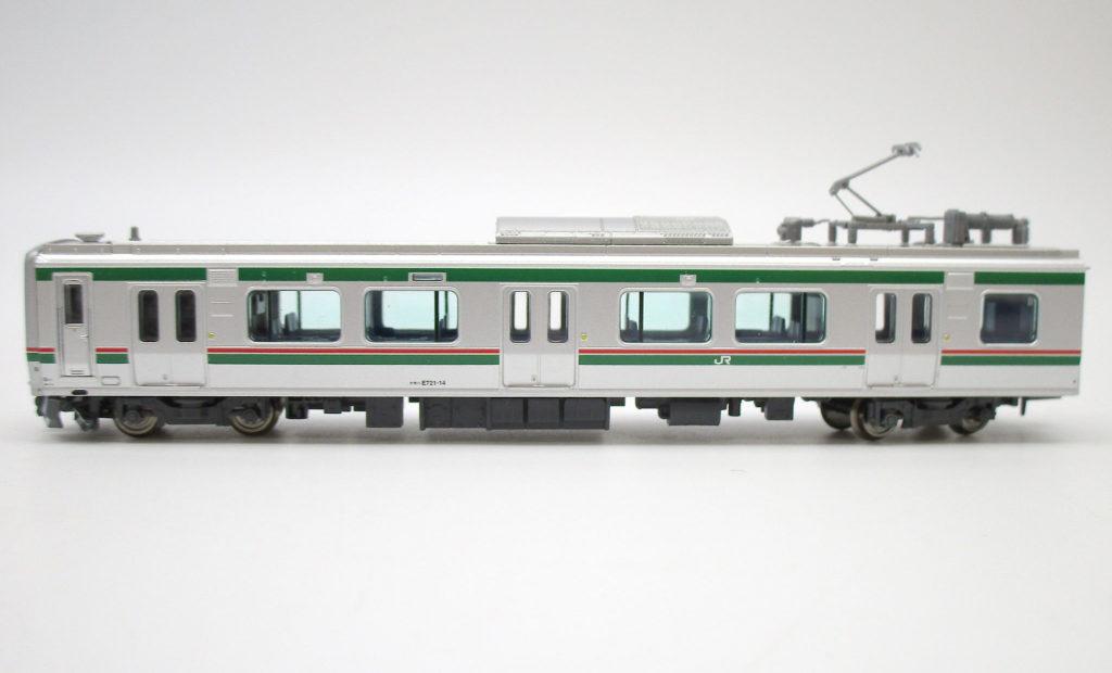 マイクロエース A7490 E721系0番台4両セット Nゲージ 側面のディテールなど