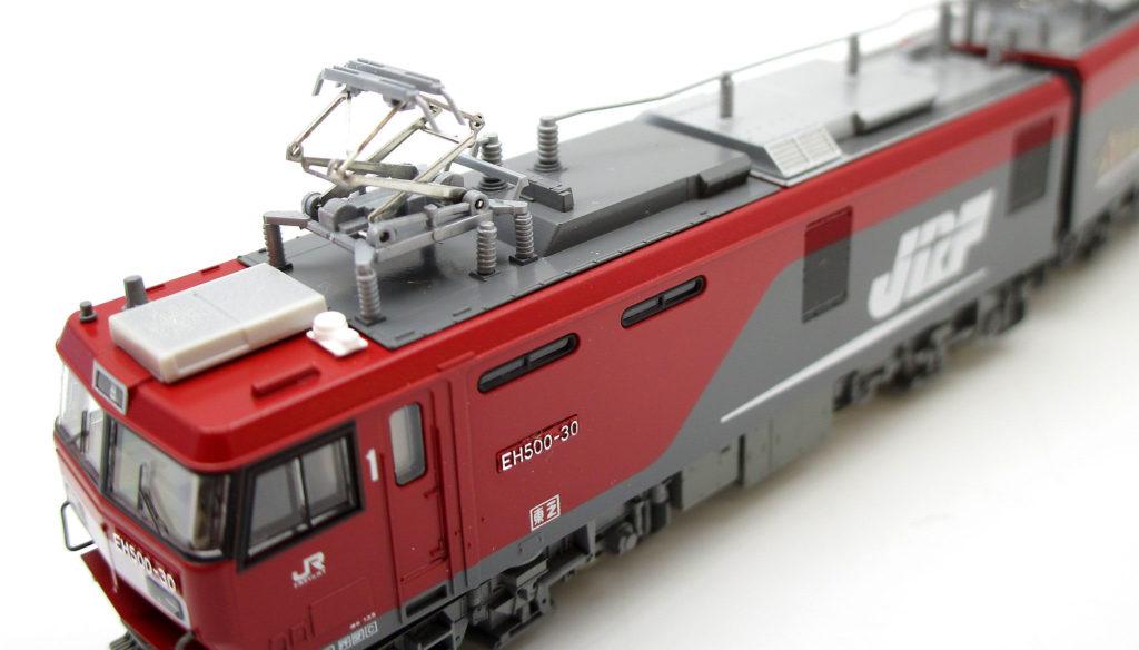 KATO 3037-1 EH500 3次形 金太郎 Nゲージのパンタグラフ