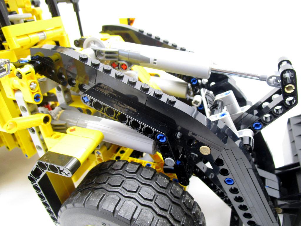 LEGO テクニック 42030 Volvo L350F ホイールローダーのシリンダー