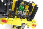 LEGO テクニック 42030 Volvo L350F ホイールローダーのエンジンファン