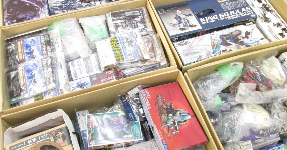 福島県より、キングゴジュラスやゾイドカスタマイズパーツ等を多数買取り頂きました!