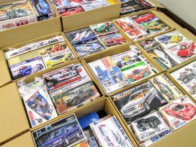 埼玉県より、スーパーカーやF1カー等のプラモデルを200点以上買取り頂きました!
