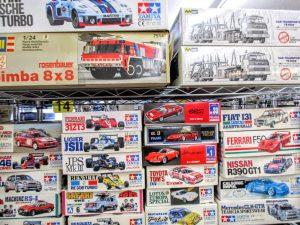 タミヤF1シリーズやビッグスケールのプラモデル