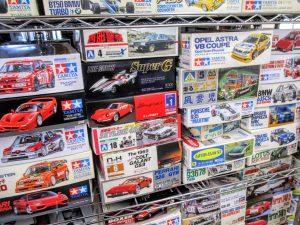 フェラーリやアルファロメオなどのプラモデル