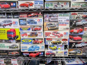 ランチアスーパーデルタなどのラリーカーのプラモデル