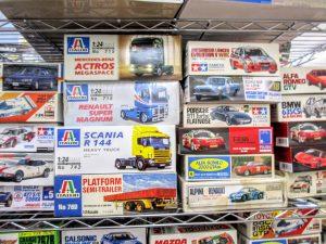 イタレリのトラックやトレーラーなどのプラモデル