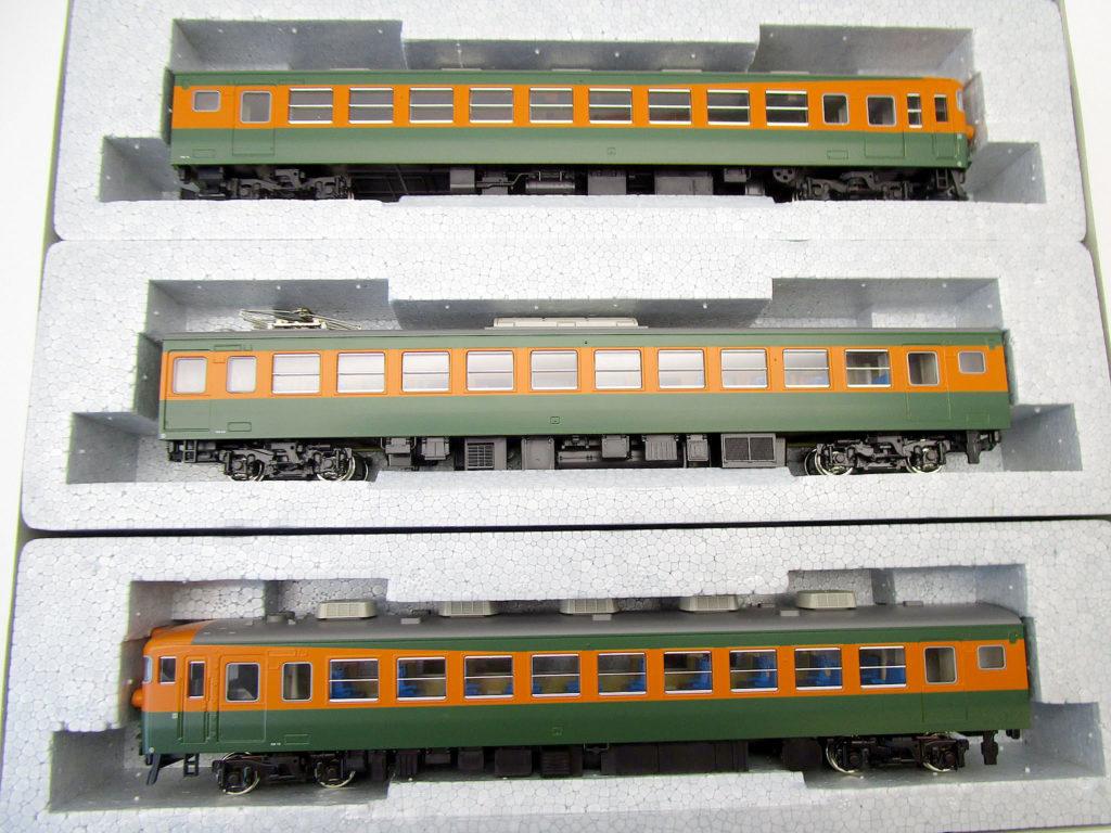 KATO 3-505 165系 直流急行電車 HOゲージ クハ165+モハ164+クモハ165の3両編成
