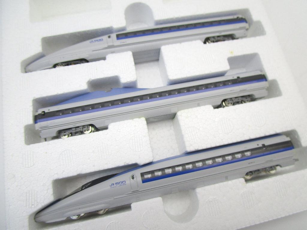 TOMIX JR500系 新幹線 Nゲージ 先頭車両2両に動力車の525が揃った3両