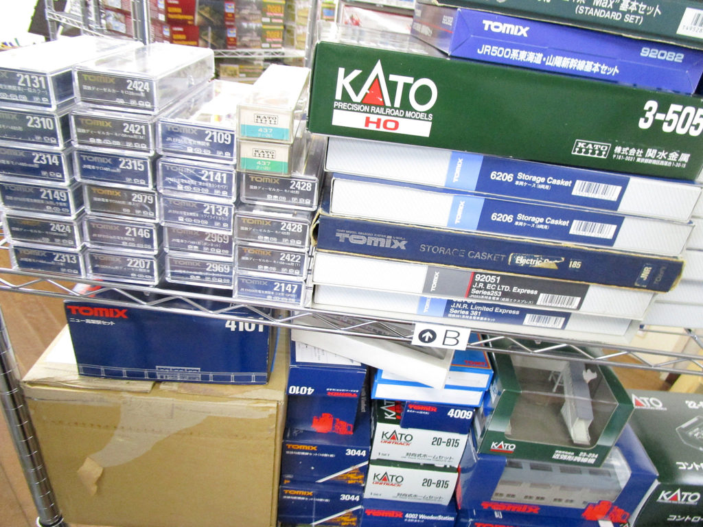 大阪府よりKATOやTOMIXの鉄道模型やストラクチャーを買取頂きました!