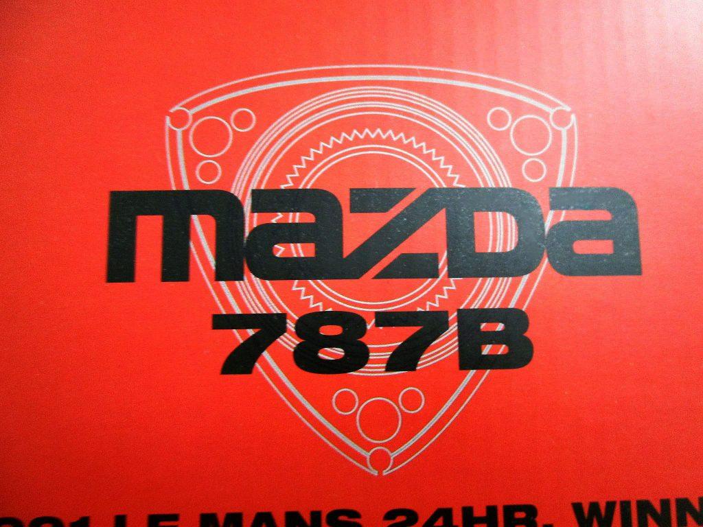 MFH1/12 マツダ787B '91 ル・マン24H #55 のロゴ