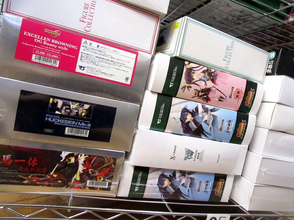 兵庫県より、VOLKSやコトブキヤなどのガレージキットを買取させていただきました!