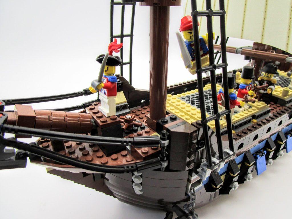 LEGOパイレーツ 10210 インペリアル フラッグシップの船首