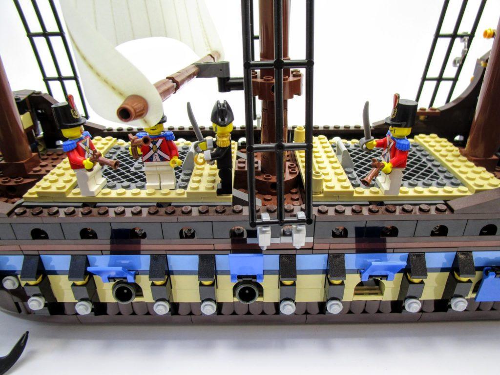 LEGOパイレーツ 10210 インペリアル フラッグシップの甲板