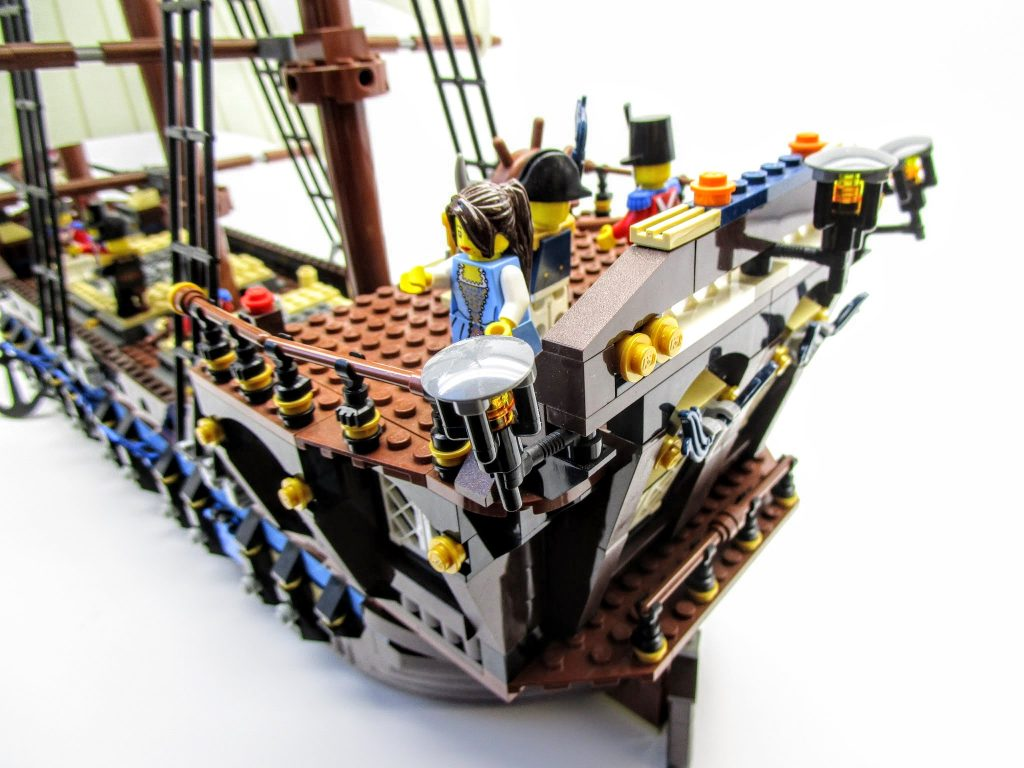 LEGOパイレーツ 10210 インペリアル フラッグシップの船尾